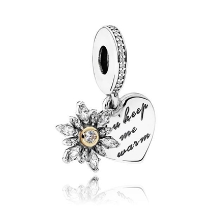 Picture of Pandora® Snowflake Heart Charm