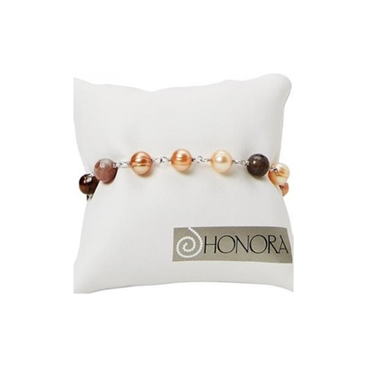Picture of Botswana 7-8mm Ringed Potato Pearl Bracelet