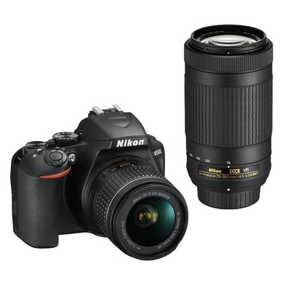 Picture of D3500 DSLR Camera with Two Lens Kit