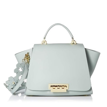 Picture of Zac Posen Eartha Iconic Soft Top with Floral Strap - Gray