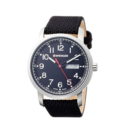 Picture of Wenger Attitude Heritage Large Watch with Black Nylon Strap