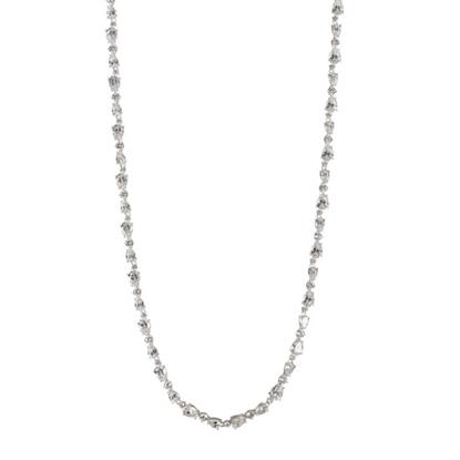 Picture of Nadri Ava Multi-Cut CZ Necklace - Rhodium Plated