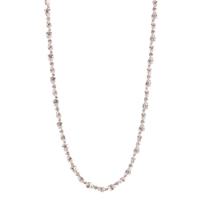 Picture of Nadri Ava Multi-Cut CZ Necklace - 18k Rose Gold Plated