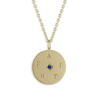 Picture of Lulu DK Faith 14k Gold Plated Brass Necklace - Faith
