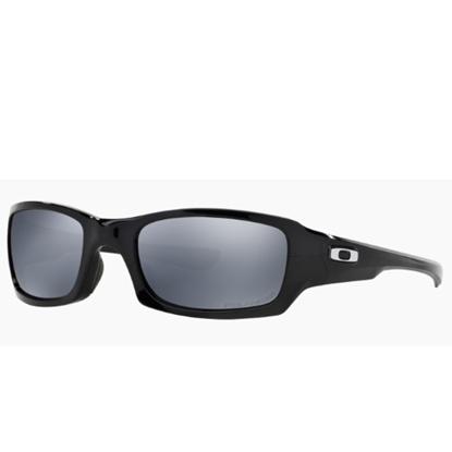 Picture of Oakley Fives Squared Polarized - Polished Black/Black Iridium