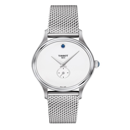 Picture of Tissot T-Lady Bella Ora Stainless Steel Watch with White Dial
