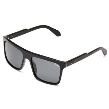 Picture of Quay LET IT RUN Sunglasses - Black/Smoke