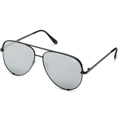 Picture of Quay HIGH KEY MINI Sunglasses - Black/Silver