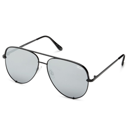 Picture of Quay HIGH KEY Sunglasses - Black/Silver