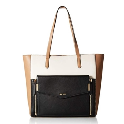Picture of Nine West Devanna Large Tote - Dark Wheat