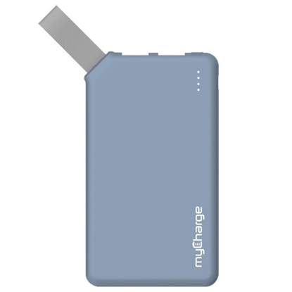 Picture of MyCharge® Go Big 6000mAh Portable Charger - Blue