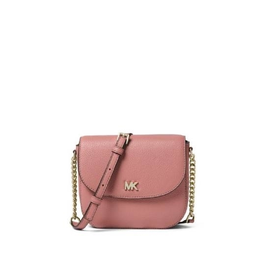 Picture of Michael Kors Half Dome Crossbody - Rose