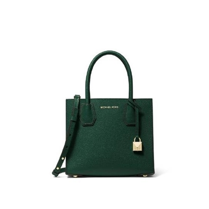 Picture of Michael Kors Mercer Medium Messenger - Racing Green