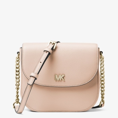 Picture of Michael Kors Half Dome Crossbody - Soft Pink