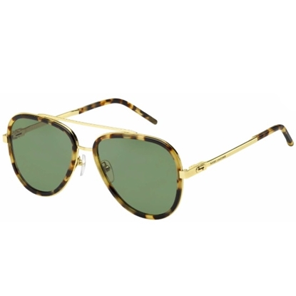 Picture of Marc Jacobs Aviator Sunglasses - Spotted Havana/Green