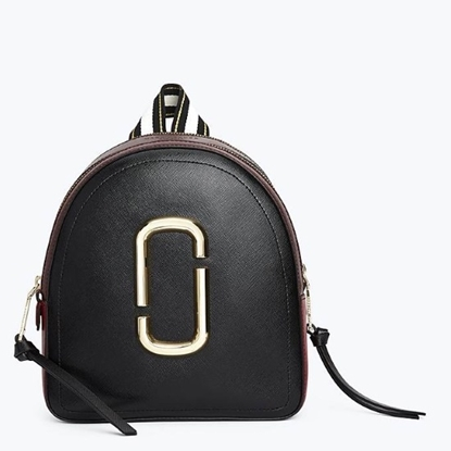 Picture of Marc Jacobs Pack Shot Backpack - Black/Red