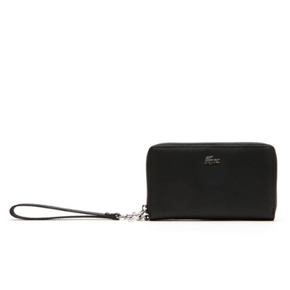Picture of Lacoste Wristlet Zip Wallet - Black
