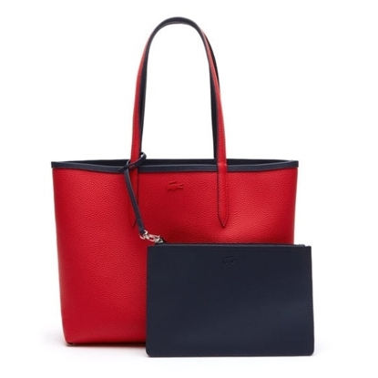Picture of Lacoste Women's Anna Reversible Shopping Bag - Peacoat/Salsa