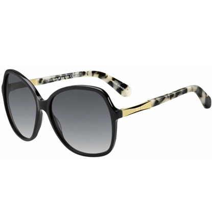 Picture of Kate Spade Jolyn Sunglasses - Black Gold/Grey Gradient
