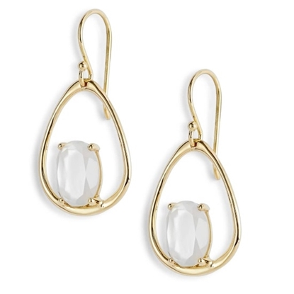 Picture of Ippolita 18K Rock Candy Suspension Earrings - Mother-of-Pearl