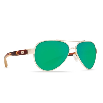 Picture of Costa Del Mar Loreto - Rose Gold/Tortoise/Green Mirror
