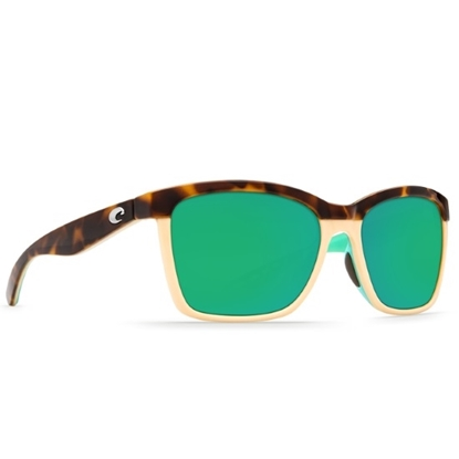 Picture of Costa Del Mar Anaa - Retro Tortoise/Mint/Green Mirror