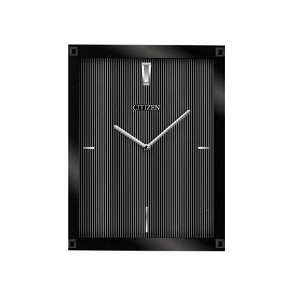 Picture of Citizen Gallery Wall Clock - Glass Black Rectangle