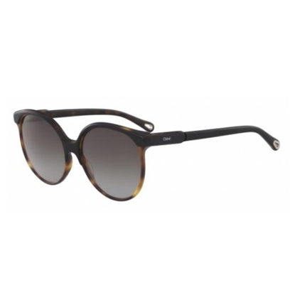 Picture of Chloe Quilly Cat Eye Sunglasses - Black/Havana