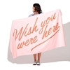 Picture of Ban.do Beach Please! Giant Towel - ''Wish You Were Here''