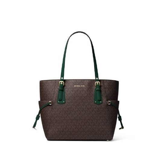 Picture of Michael Kors Voyager Signature E/W Tote