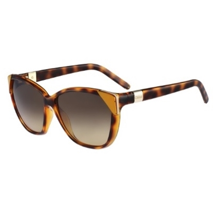 Picture of Chloe Cat-Eye Sunglasses - Tortoise