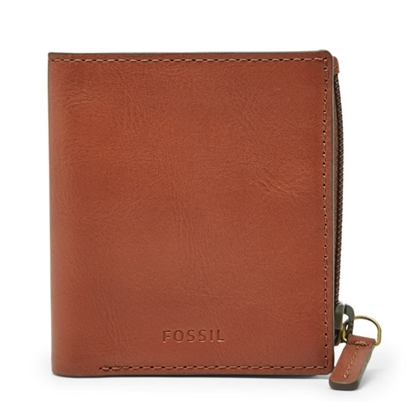 Picture of Fossil Men's Philip Coin Pocket Bifold - Luggage