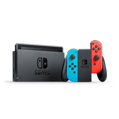 Picture of Nintendo Switch System with Three Games