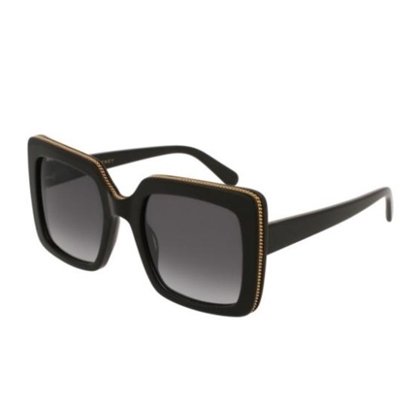 Picture of Stella Square Acetate Sunglasses - Black