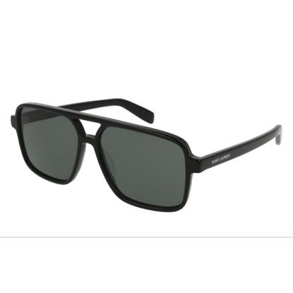 Picture of St. Laurent Pilot Sunglasses - Black/Grey