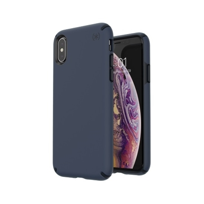 Picture of Speck iPhone Xs/X Presidio Pro Case- Eclipse Blue/Carbon Black