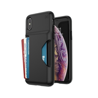 Picture of Speck iPhone Xs/X Presidio Wallet Case - Black
