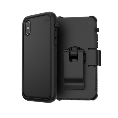 Picture of Speck iPhone Xs/X Presidio Ultra Case - Black