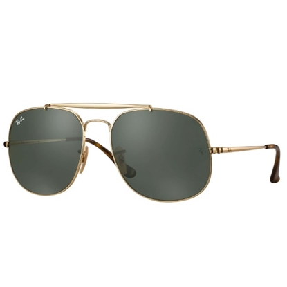 Picture of Ray-Ban® The General - Gold/Green Classic Lens