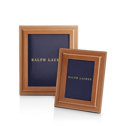 Picture of Ralph Lauren Brennan 5x7 Frame - Saddle