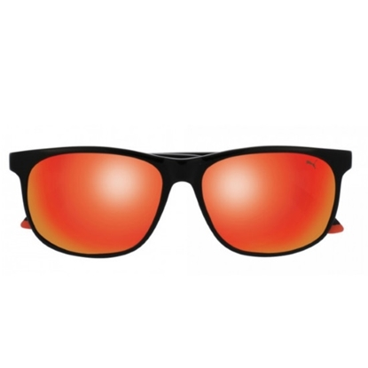 Picture of Puma Sport Wayfarer Sunglasses - Black/Orange