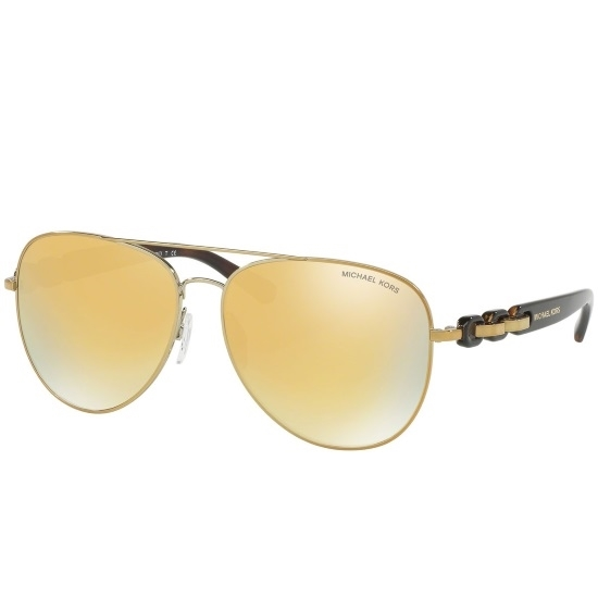 Picture of Michael Kors Pandora Pilot Sunglasses - Rose Gold/Gold