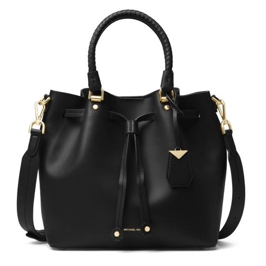 Picture of Michael Kors Blakely Medium Bucket Bag - Black