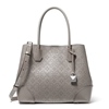 Picture of Michael Kors Mercer Gallery Center Zip Tote - Pear Grey Floral