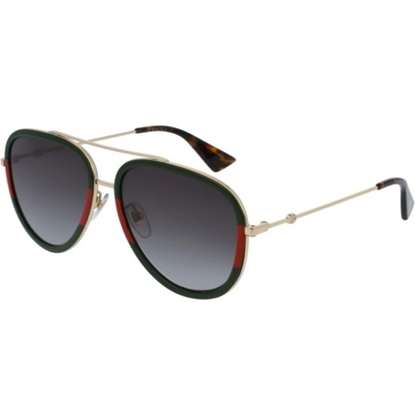 Picture of Gucci Gold Metal Aviators with Grey Lens