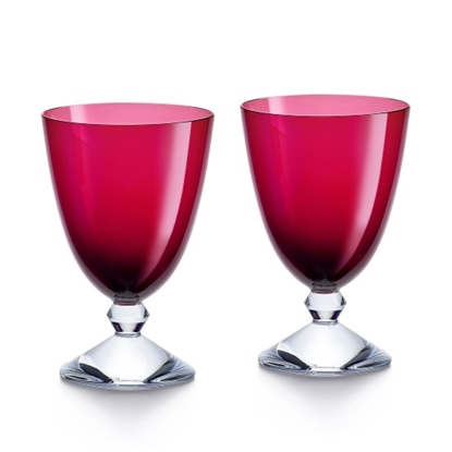 Picture of Baccarat Vega Water Glass - Red
