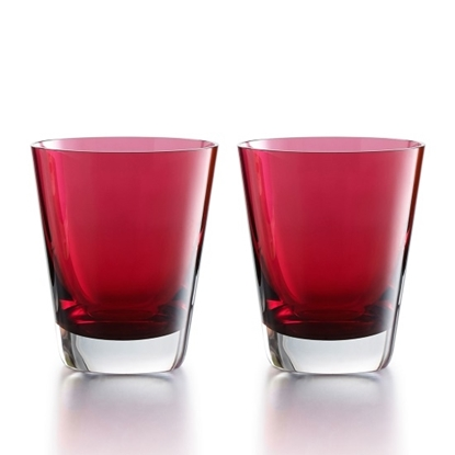 Picture of Baccarat Mosaique Tumblers - Red