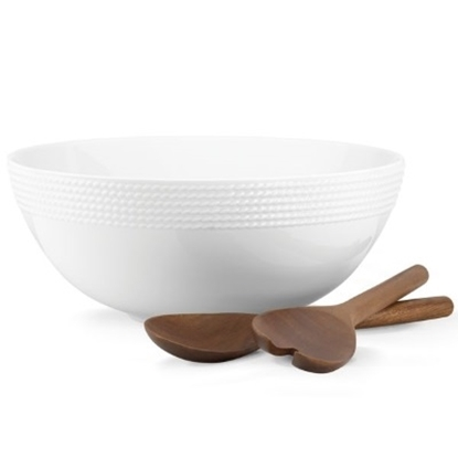 Picture of Kate Spade Wickford Salad Set with Servers
