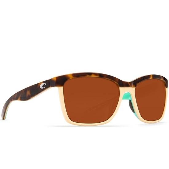 Picture of Costa Anaa Sunglasses - Retro Tortoise/Cream/Mint