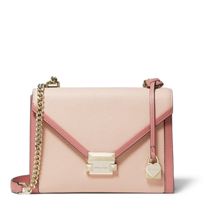 Picture of Michael Kors Whitney Large Shoulder - Soft Pink Multi